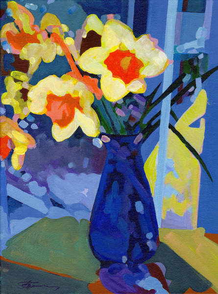 Painting - Daffodil Moment by Tanya Filichkin