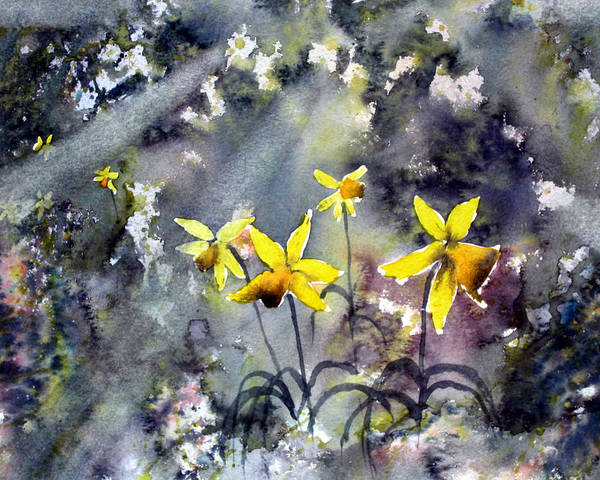 Painting - Daffodils Of Hope by Glenn Marshall