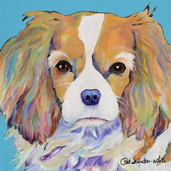 Painting - Dagney by Pat Saunders-White