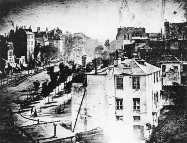 Photograph - Daguerreotype, 1838 by Granger