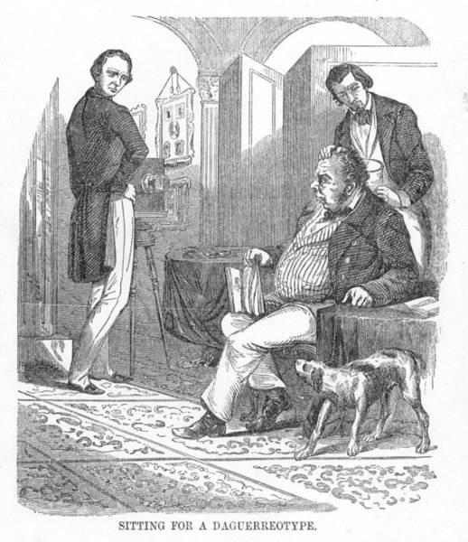 Photograph - Daguerreotype, 1854 by Granger