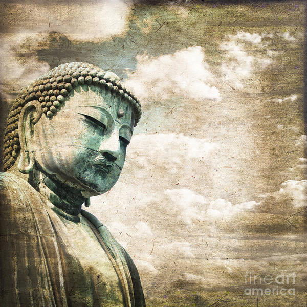 Buddhist Temple Wall Art - Photograph - Daibutsu by Delphimages Photo Creations