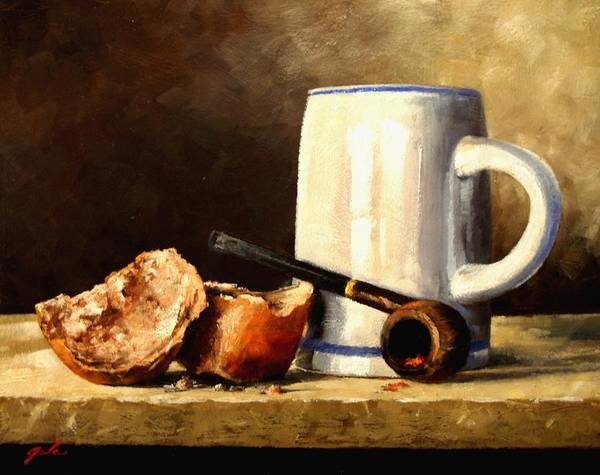 Painting - Daily Bread #3 by Jim Gola