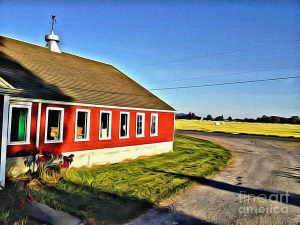 Dairy Barn Digital Art - Dairy Barn by NW Images