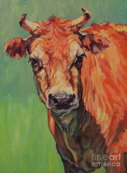 Painting - Dairy Queen by Patricia A Griffin