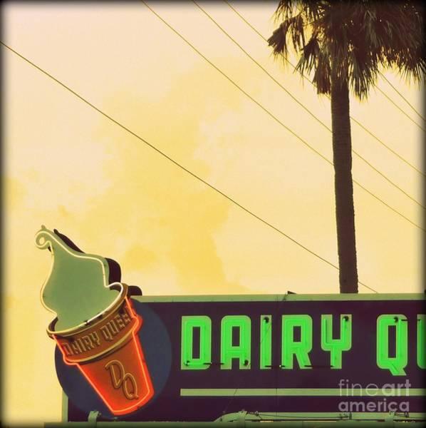 New Smyrna Beach Digital Art - Dairy Queen Dream by Valerie Reeves