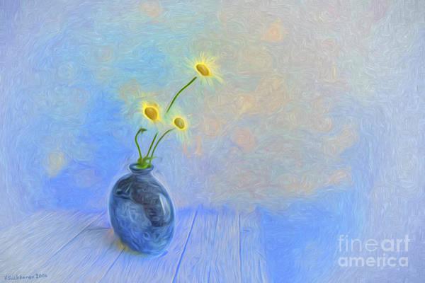 Wild Life Painting - Daisies by Veikko Suikkanen