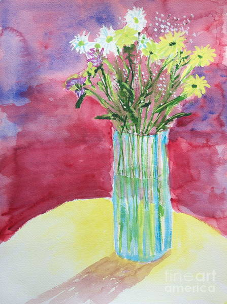 Painting - Daisy Bouquet by Walt Brodis