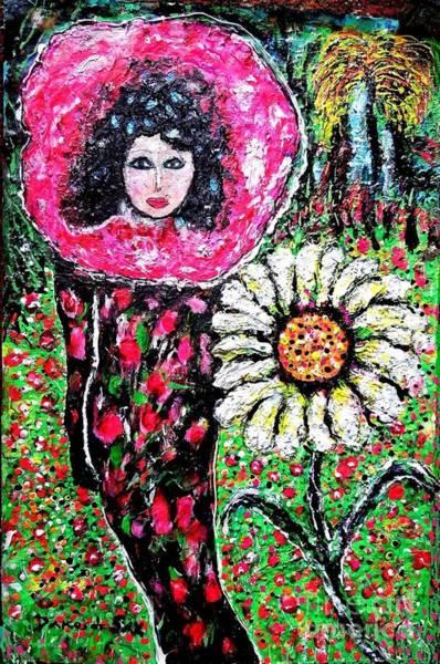 Sax Painting - Daisy by Darlyne Sax