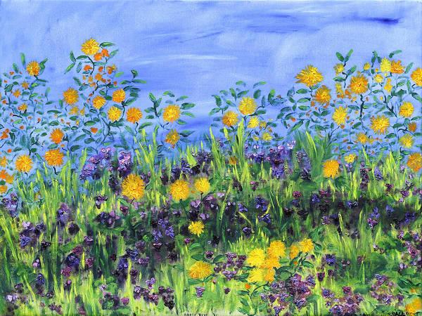 Painting - Daisy Days by Regina Valluzzi
