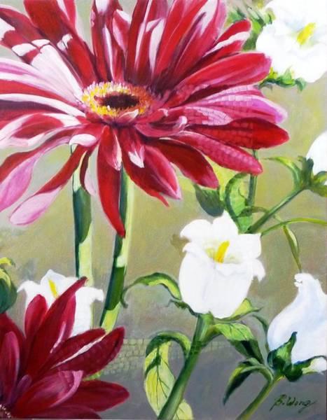 Daisy Delight - 2 Art Print