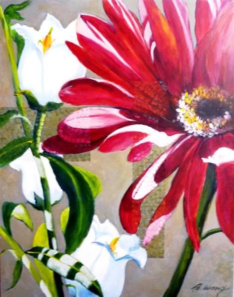 Daisy Delight Art Print