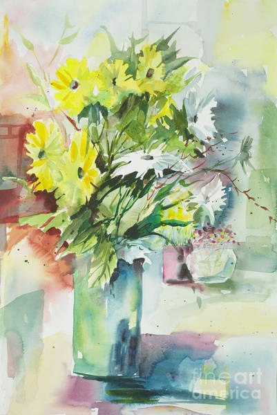 Painting - Daisy Display by John Nussbaum