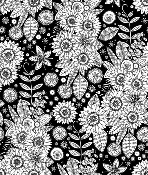 Retro Drawing - Daisy Mono Pop by MGL Meiklejohn Graphics Licensing