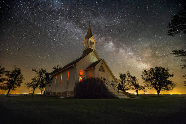 Dakota Photograph - Dakota Territory Milky Way by Aaron J Groen