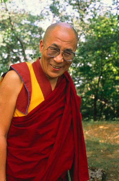 Dalai Lama Wall Art - Photograph - Dalai Lama, Nobel Prize 1989 by Alison Wright