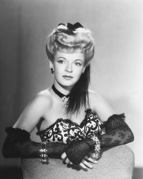 Glamorous Photograph - Dale Evans by Silver Screen