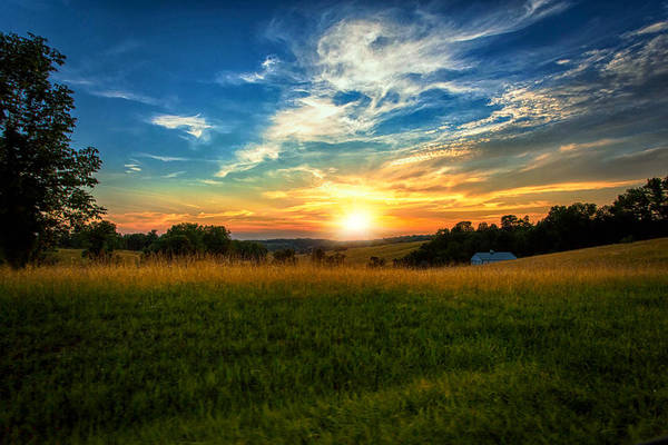 Photograph - Dale Hollow Sunset by Amber Flowers