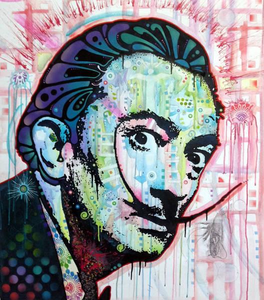 Salvador Dali Painting - Dali Original Art by Dean Russo Art