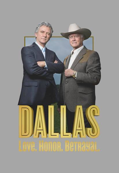 Dallas Digital Art - Dallas - Big Two by Brand A