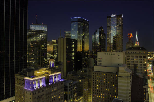 Photograph - Dallas Cityscape by David Clanton