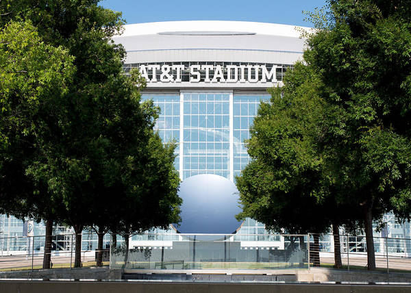 Photograph - Dallas Cowboys Att Stadium by Rospotte Photography