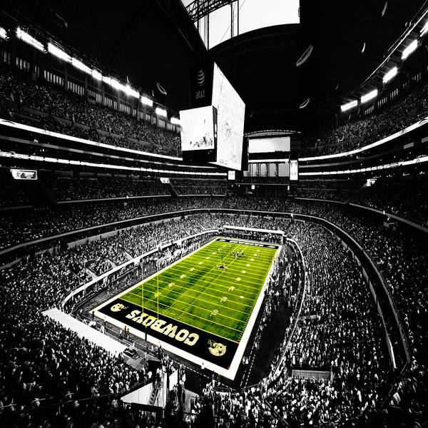 Wall Art - Digital Art - Dallas Cowboys Football Stadium by Brian Reaves