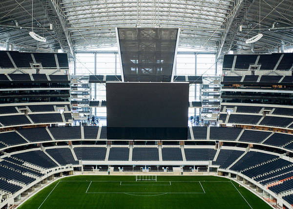 Photograph - Dallas Cowboys Stadium by Rospotte Photography