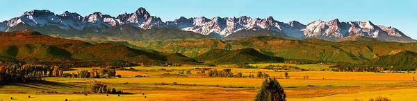 Ridgway Photograph - Dallas Divide In Autumn Panorama by Photo By Matt Payne Of Durango, Colorado