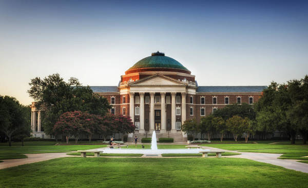 Wall Art - Photograph - Dallas Hall - Southern Methodist University by Mountain Dreams