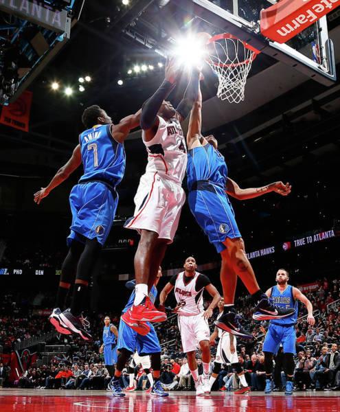 Atlanta Photograph - Dallas Mavericks V Atlanta Hawks by Kevin C. Cox