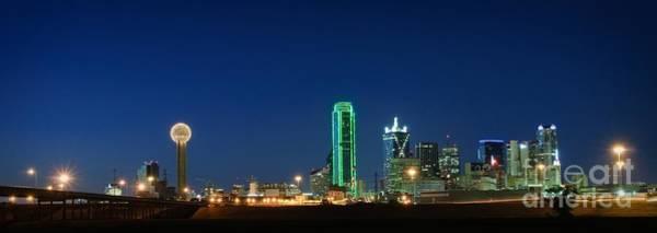 Wall Art - Photograph - Dallas Skyline by Charles Dobbs