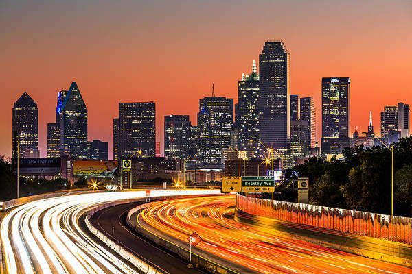 Photograph - Dallas Sunrise by Mihai Andritoiu
