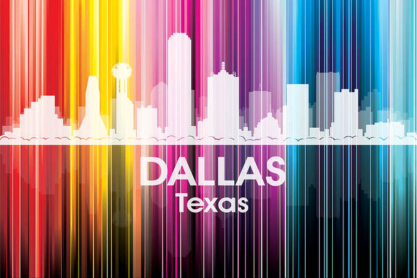 Mixed Media - Dallas Tx 2 by Angelina Tamez