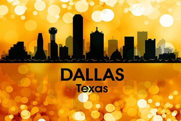 Mixed Media - Dallas Tx 3 by Angelina Tamez