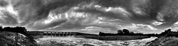 Dam Panoramic Art Print