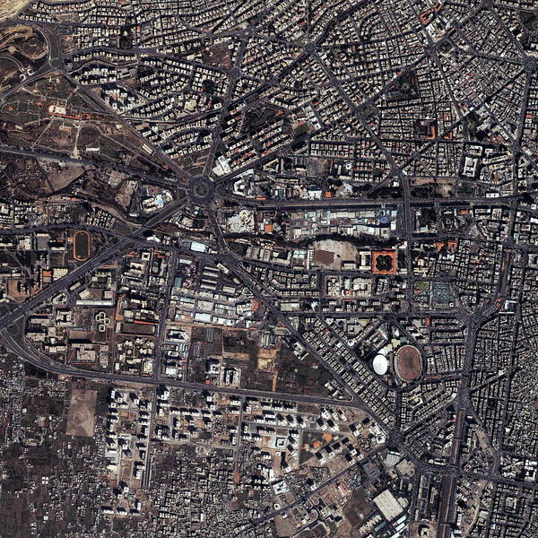 Damascus Photograph - Damascus by Geoeye/science Photo Library