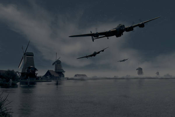 Photograph - Dambusters First Wave by Gary Eason