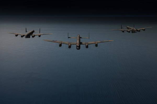 Photograph - Dambusters Second Flight by Gary Eason