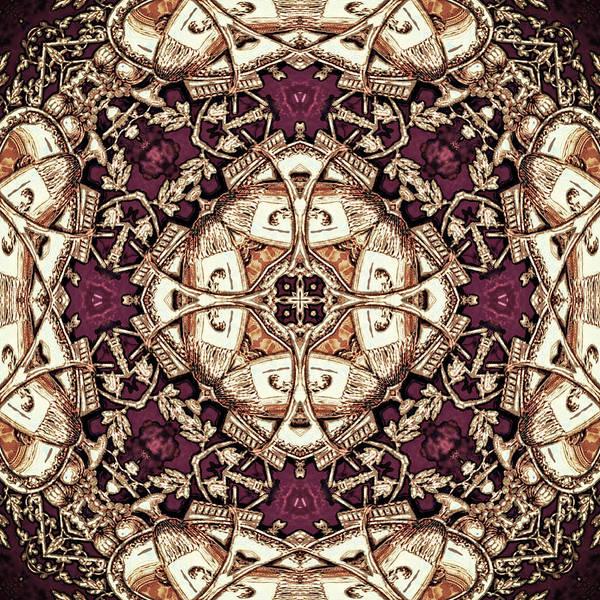 Digital Art - Damson Delight by Charmaine Zoe
