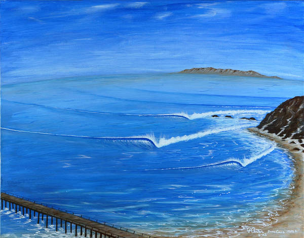 Painting - Dana Point-killer Dana by Paul Carter