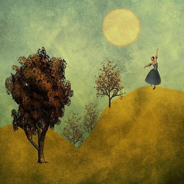Dehner Digital Art - Dance In The Moonlight by David Dehner
