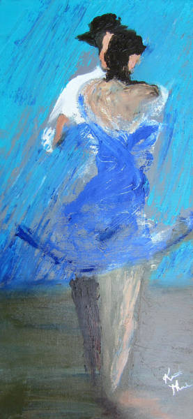 Painting - Dance In The Rain by Keith Thue