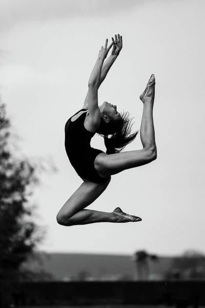 Acrobat Wall Art - Photograph - Dance by Martin Krystynek Qep