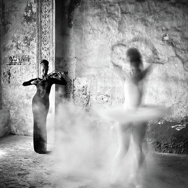 Ghosts Photograph - Dance by Michael M.