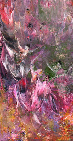 Painting - Dance Of The Virgins by Miki De Goodaboom