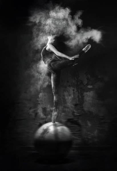 Abe Photograph - Dance On Ball by Antonyus Bunjamin (abe)