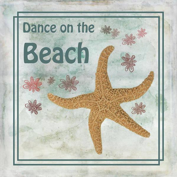 Starfish Painting - Dance On The Beach by Ramona Murdock