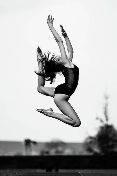 Acrobat Wall Art - Photograph - Dance [radka] by Martin Krystynek Qep