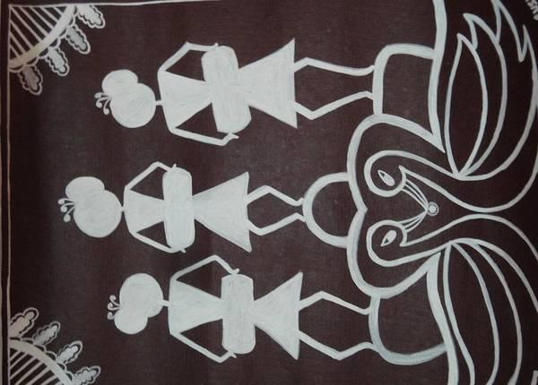 Tribal Dance Digital Art - Dance by Sushmita Kotlikar